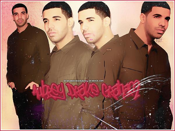 * GrahamDrakeAubrey ▬ Suis toute l'actualité du talentueux rappeur Canadien, Drake !*