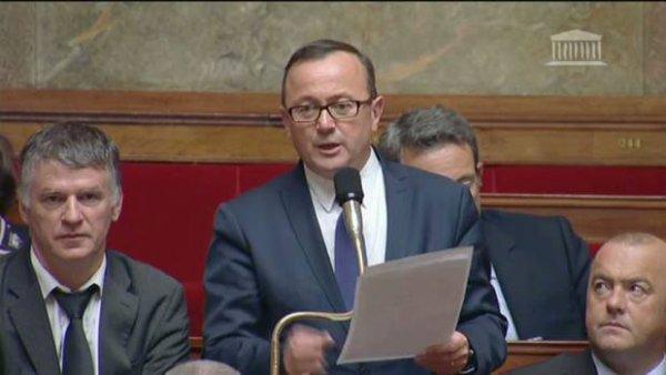 Reclassés PTT : le Député Stéphane Saint André (PRG 62) dépose la question orale rédigée en collaboration avec SUD PTT Vincent Nouvel le 4 nov 2015 auprès du Ministre E Macron