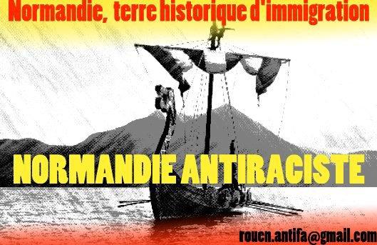 Normandie Anti-Raciste - Terre Historique d'Immigration (Danois, Norvégiens..espagnols, algériens)
