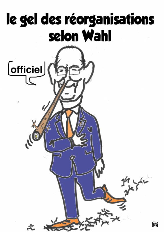 Philippe WAHL PDG - Pinochio De Grandstanding - de la Poste augmente son salaire de 140% et maltraite ses salariés, et ses fonctionnaires
