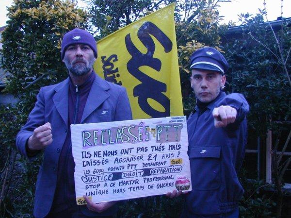 Reclassés PTT 24 années d'un Martyr inégalé en France : reconnaissance et indemnisation
