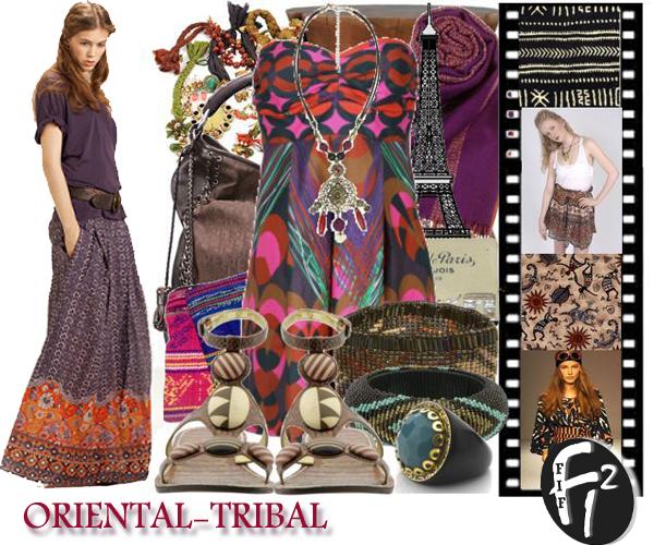 Le Style Ethnique oriental-tribal tour du monde pour style ethnique : riches broderies