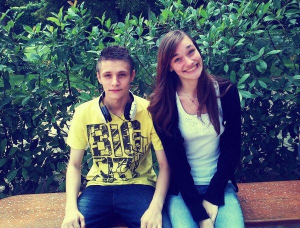 Avec ma soeur ♥
