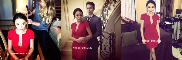 . JANVIER 2013 : Janel pose pour la marque Aritzia.