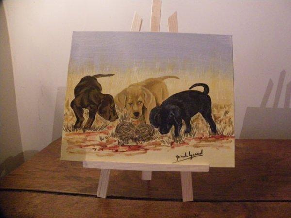 toiles sur les animaux (suite)