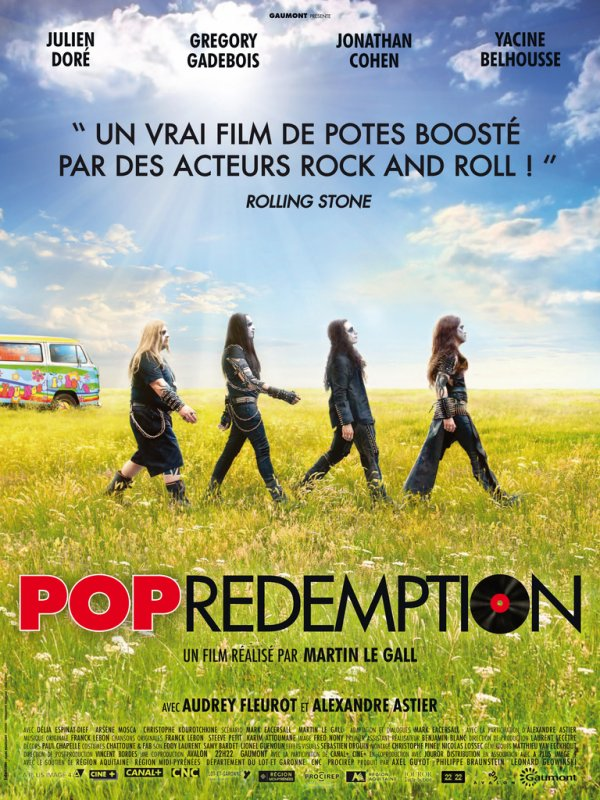Sortie du film POP REDEMPTION avec Julien DORE le 6 juin