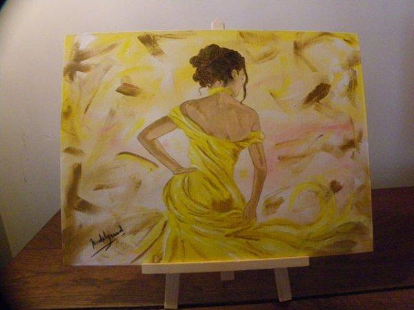 la Dame en jaune
