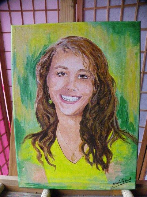 34- portrait de Xéna 15ans