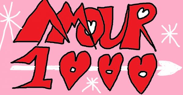 1000 amour pour mon amour 1000