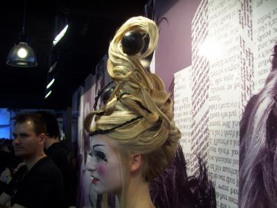 Chignon la coiffure mon salon et le mondial de la - Salon mondial de la coiffure ...