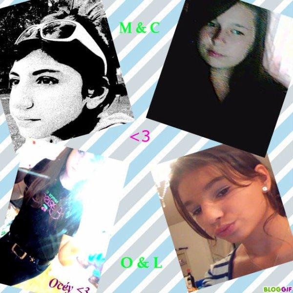 Merve ♥ Celeste ♥ Océy ♥ Léna ♥ ...