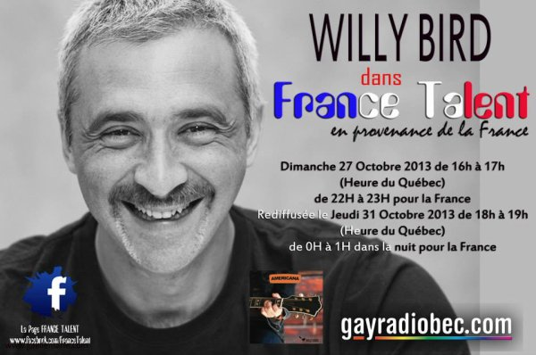 Interview radio du 27 octobre 2013 à partie de 22H