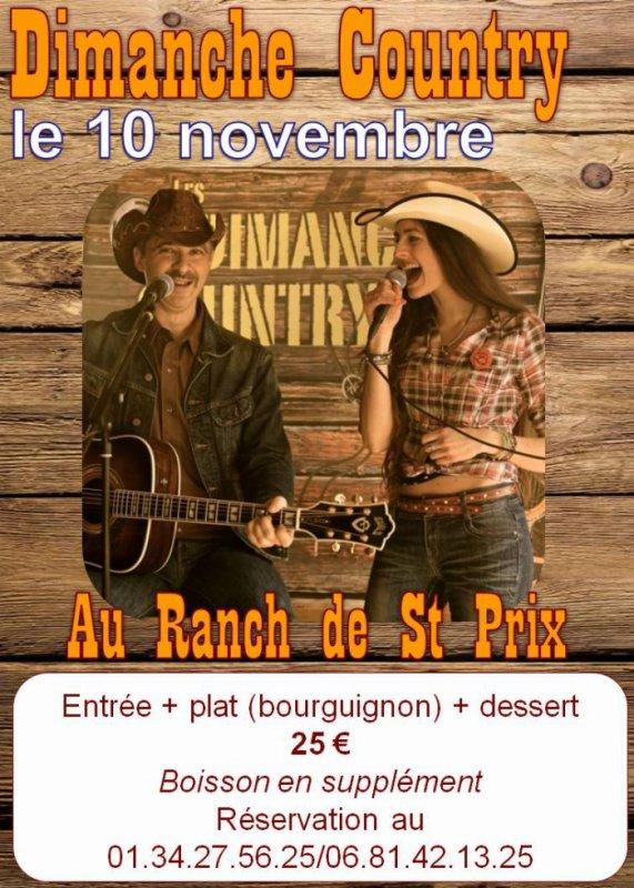 Concert 10 novembre 2013 des DIMANCHES COUNTRY