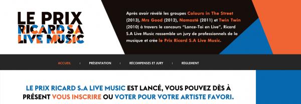 VOTEZ POUR WILLY BIRD SUR LE RICARD LIVE MUSIC. MERCI DE VOTRE SOUTIEN.