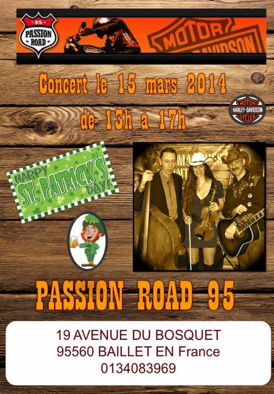 """Le 15 mars pour la SAINT PATRICK retrouvez """"Les Dimanches Country"""" pour DEUX CONCERTS EXCEPTIONNELS."""