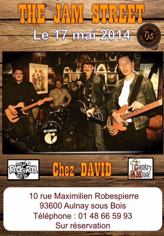 "Concert du ""JAM STREET"" le 17 mai 2014"