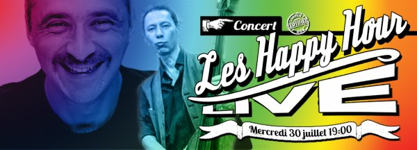 "CONCERT LE 30 JUILLET du duo les ""HAPPY HOUR"""