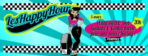 """Le Duo """"LES HAPPY HOUR"""" sera le 05 mars prochain à l'APÉROCK"""