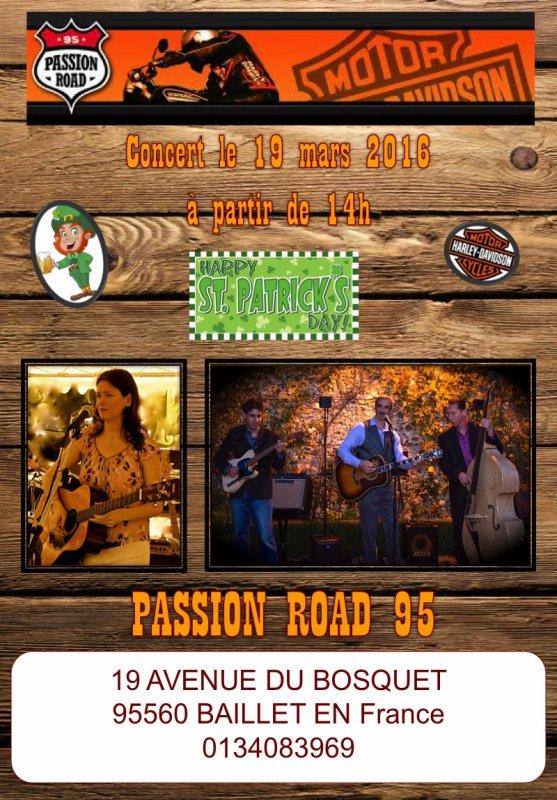 CONCERT le 19 MARS  Harley Davidson Passion Road 95