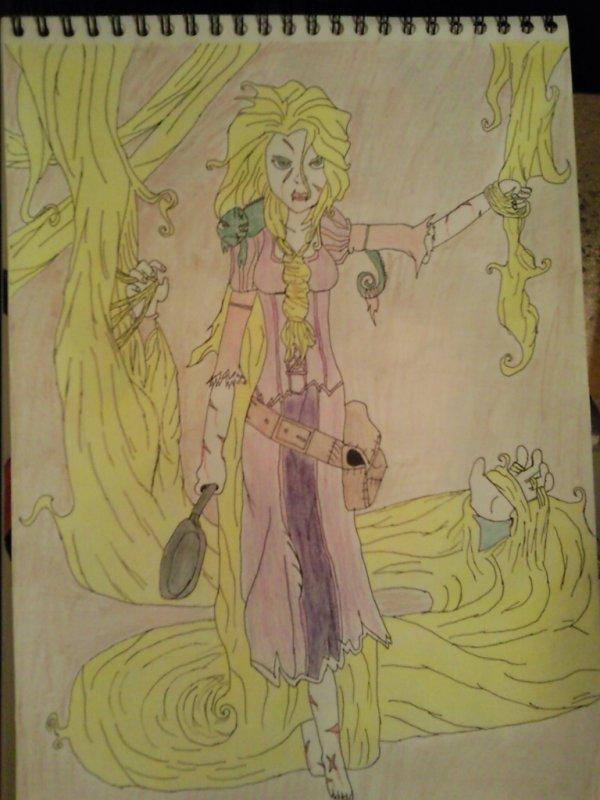 Rapunzel diabolique !