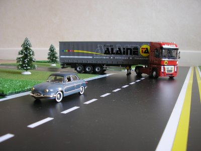 renault magnum des transports alain voiture panhard mes camions 1 43 eme. Black Bedroom Furniture Sets. Home Design Ideas