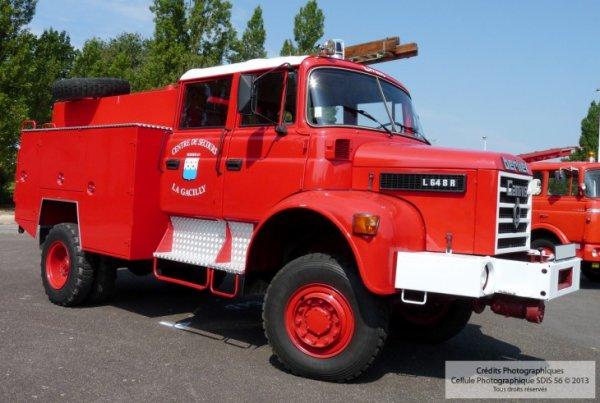 Berliet L 648 R -1978 Camion Citerne Incendie
