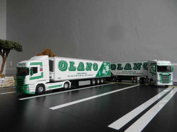 Transports Olano Scania S 450 2eme Partie parking