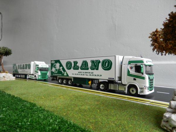Transports Olano Scania S 450 1 ere partie