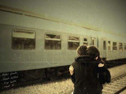 les histoires d'amour c'est comme les voyages en train