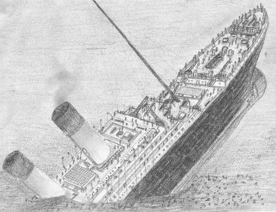Dessin Titanic