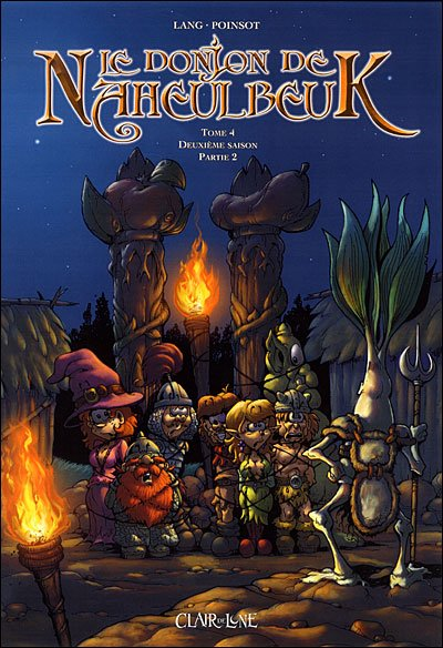 Le donjon de Naheulbeuk tome 4