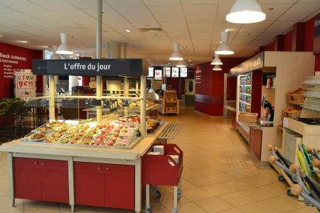Cafétéria de l'hôpital à Paris