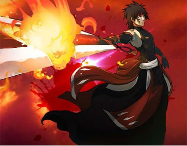 Premier personnage: Shadow !