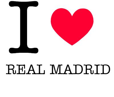 I love real madrid