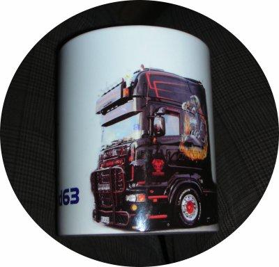 Un exemple de mug personnalisé sur 340 °