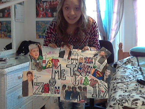 Presentation+ The poster i made <3