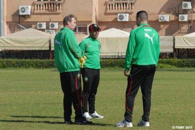 Entrainement des olympiques a Marrakech
