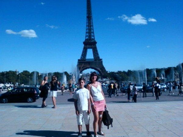 AVEC MA FILLE LAURIANE 18 JUILLET 2012 -------- avec mon fils