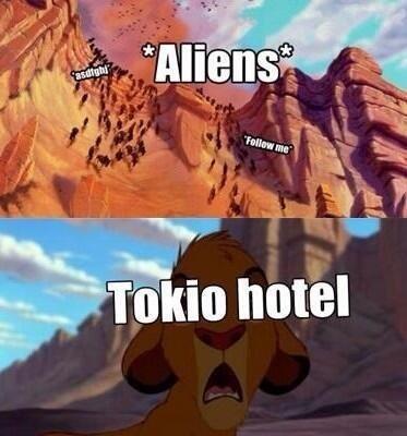 Les Aliens sur twitter