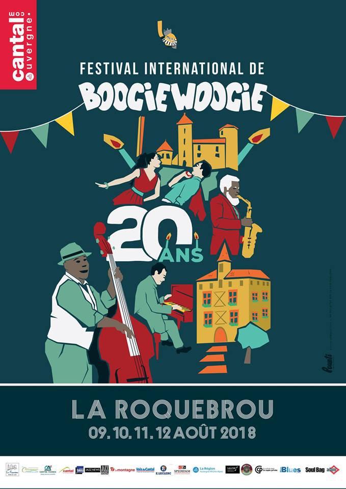 FESTIVAL DE BOOGIE DE LAROQUEBROU du 9 au 12 Aout 2018