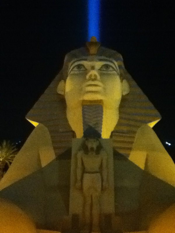 Le Luxor a las Vegas