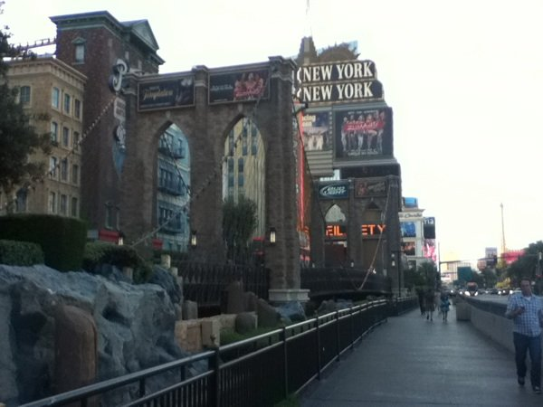 Le pont de Brooklyn a las Vegas