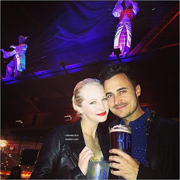 05.12.2013 - Candice était à Las Vegas avec Joe.