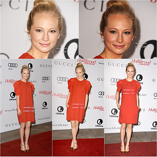 11.12.2013 - Candice était au Thr's 22nd Annual Women in Enternainment Breakfast.