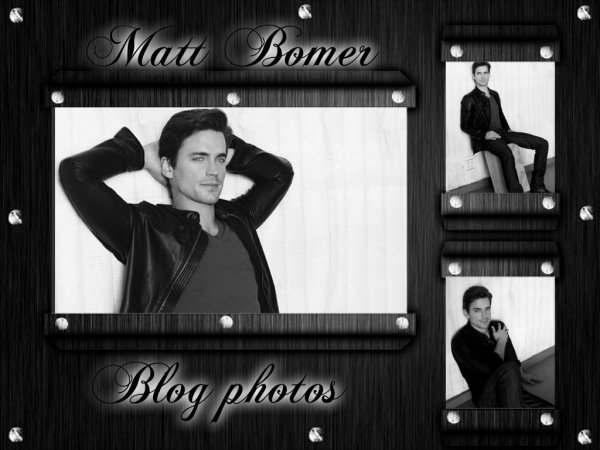 Welcome to my blog photo special Matt Bomer !
