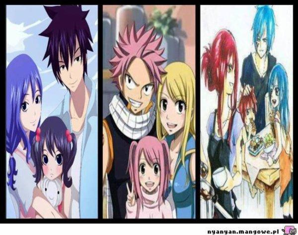 les famille de fairy tail