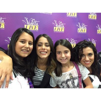 news violetta live, alba y lodo
