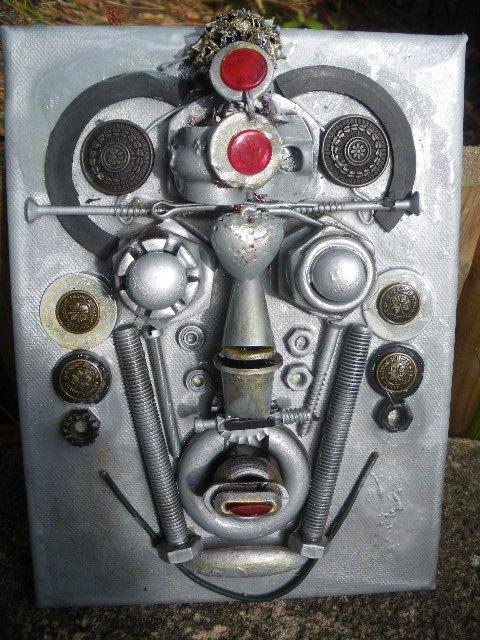 Masque Africain métal