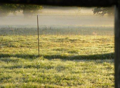 c'était très beau ce matin....