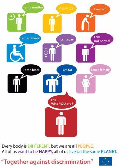 Non a toutes les sortes de discrimination, DIEU seul juge